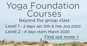 Yoga Foundation Courses beyond the group yoga class with Clara Lemon in Bristol