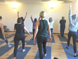 Bristol YogaSpace Bishopston yoga class with Clara